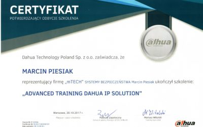 """ADVANCED TRAINING DAHUA IP SOLUTION"""