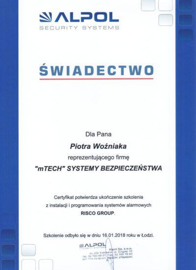 Risco Group_Piotr Woźniak